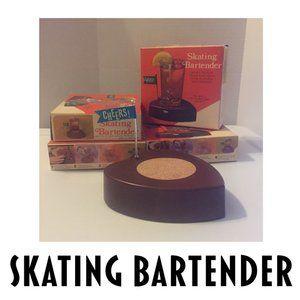 VTG Skating Bartender Kitsch Barware